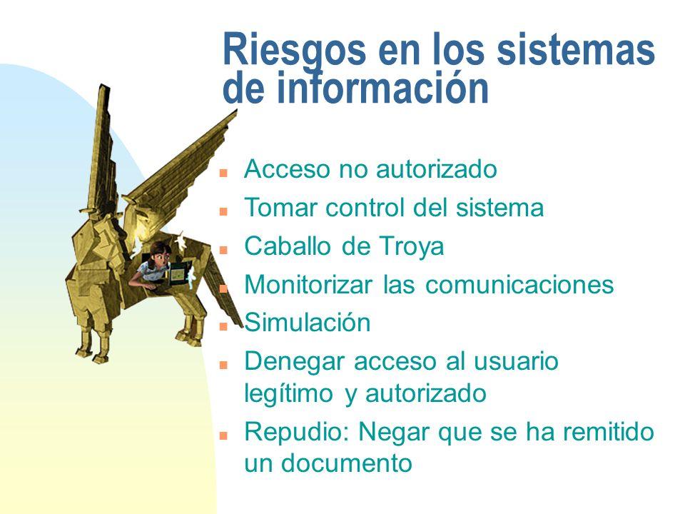 Riesgos en los sistemas de información