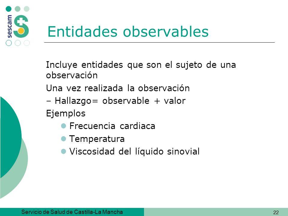 Entidades observables