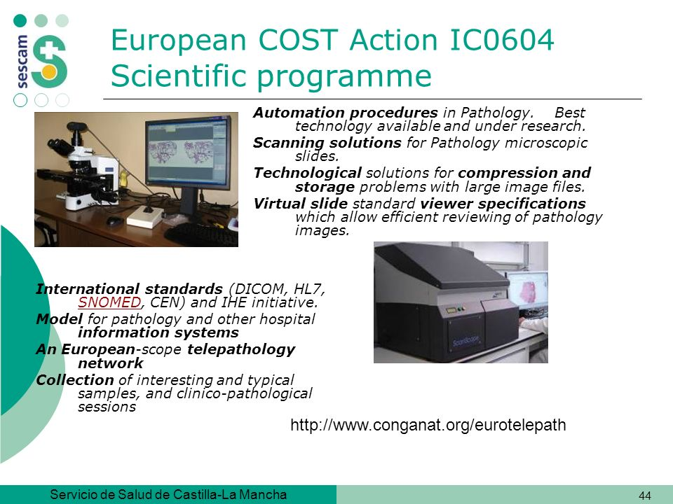 European COST Action IC0604 Scientific programme