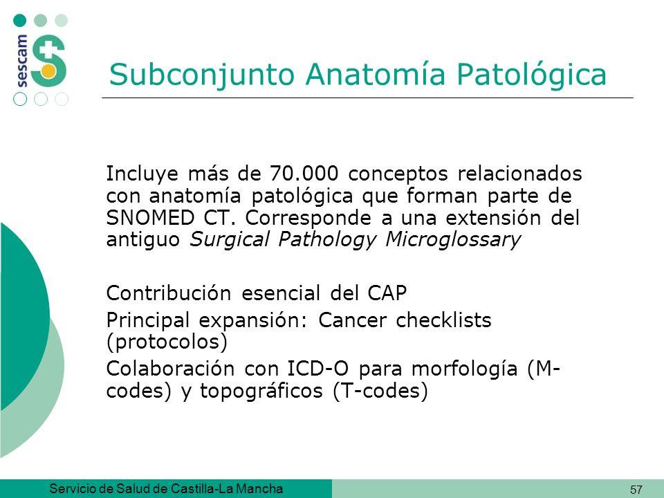 Subconjunto Anatomía Patológica