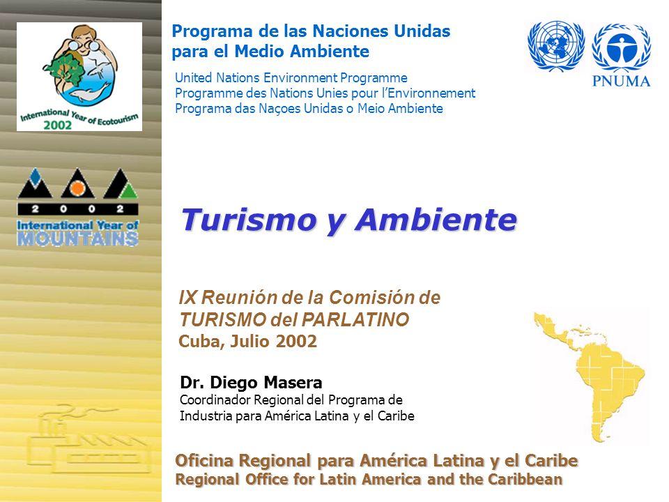 Turismo y Ambiente IX Reunión de la Comisión de TURISMO del PARLATINO