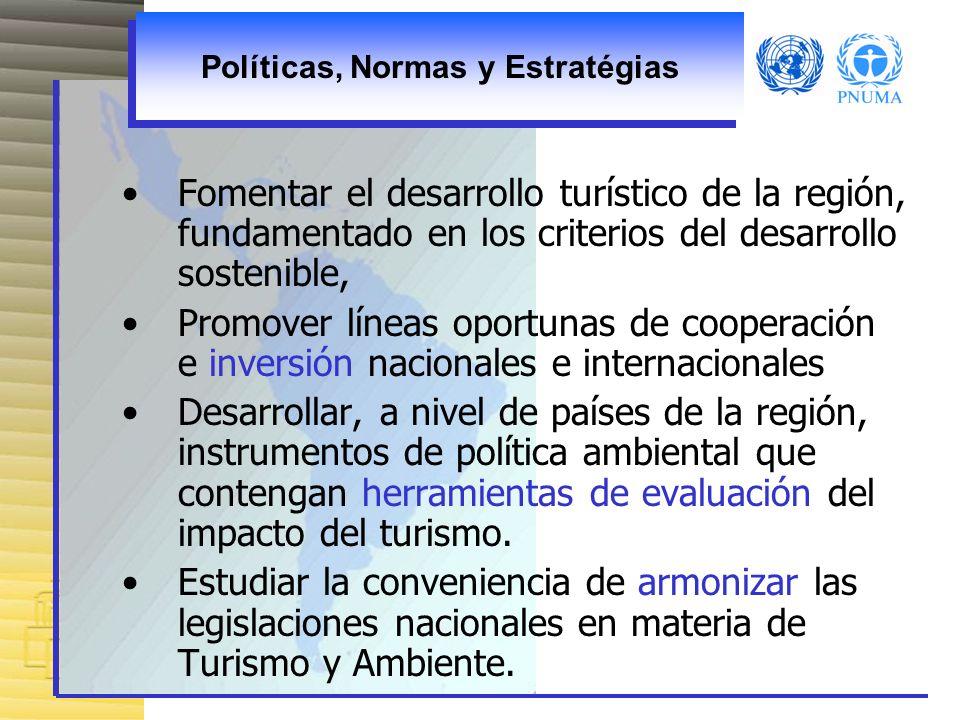 Políticas, Normas y Estratégias