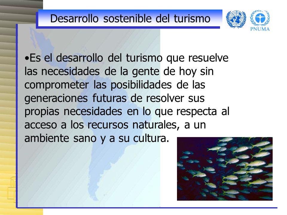 Desarrollo sostenible del turismo