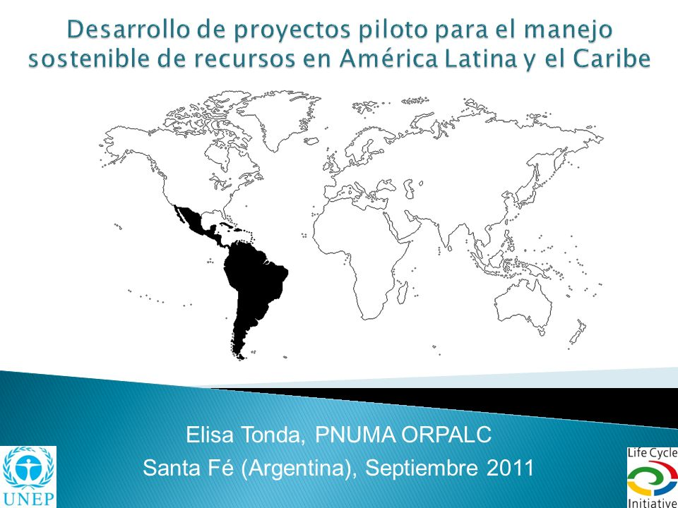 Desarrollo de proyectos piloto para el manejo sostenible de recursos en América Latina y el Caribe