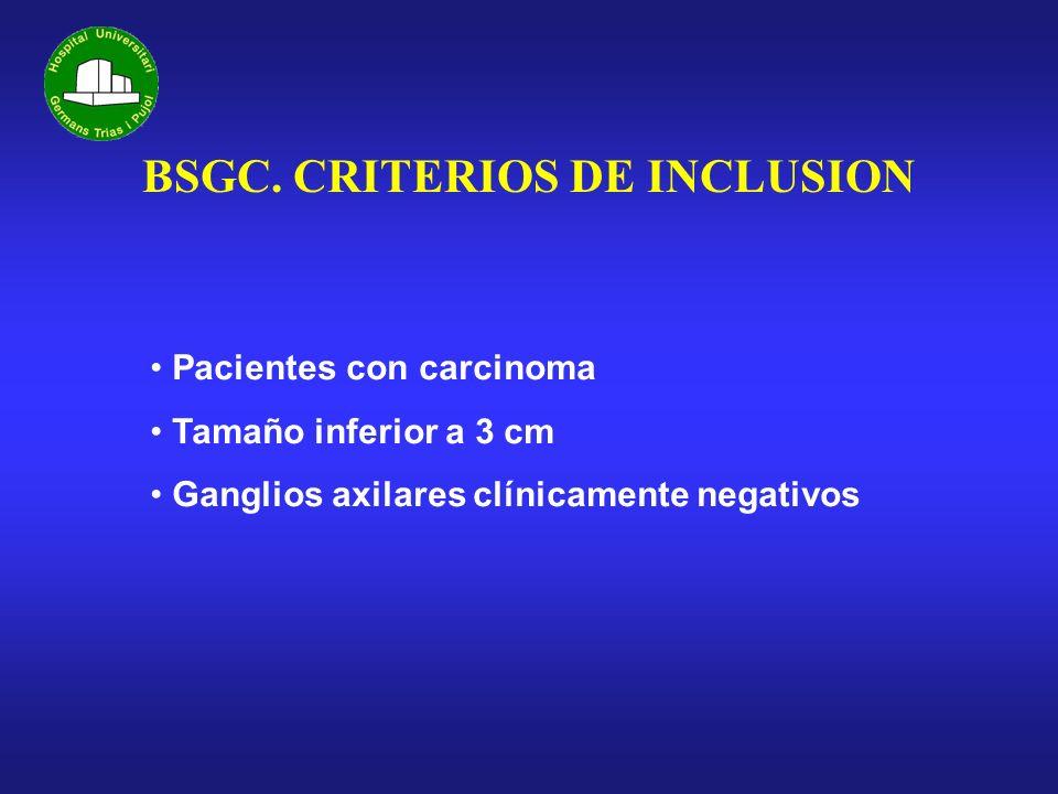 BSGC. CRITERIOS DE INCLUSION