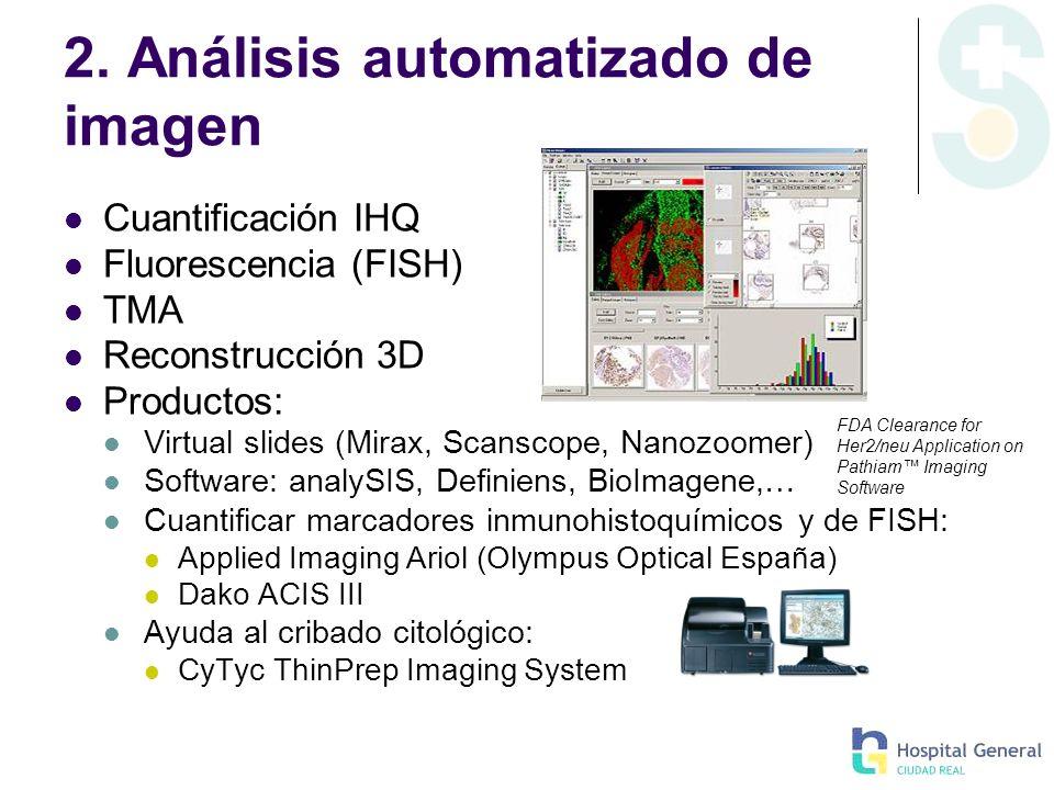 2. Análisis automatizado de imagen