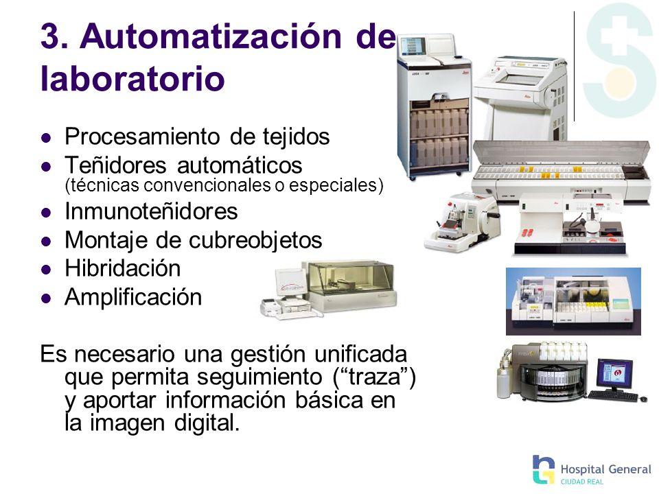 3. Automatización de laboratorio
