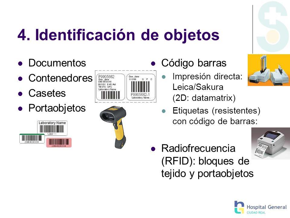 4. Identificación de objetos