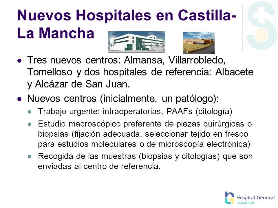 Nuevos Hospitales en Castilla-La Mancha