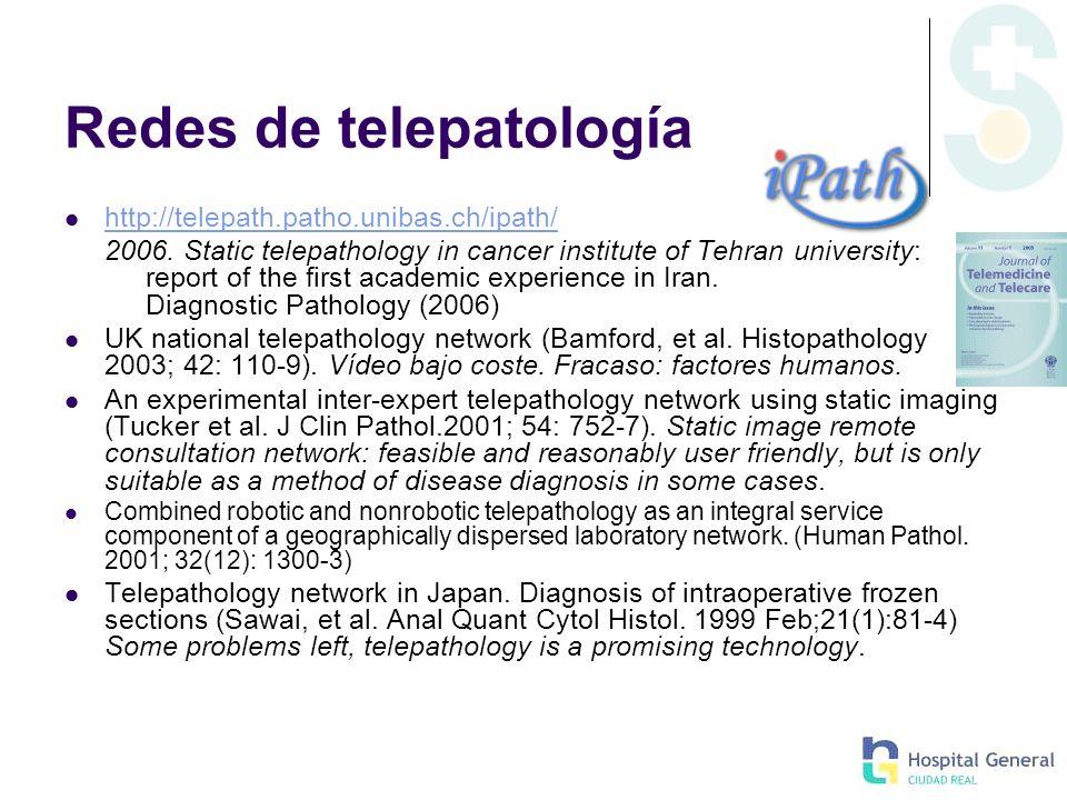 Redes de telepatología