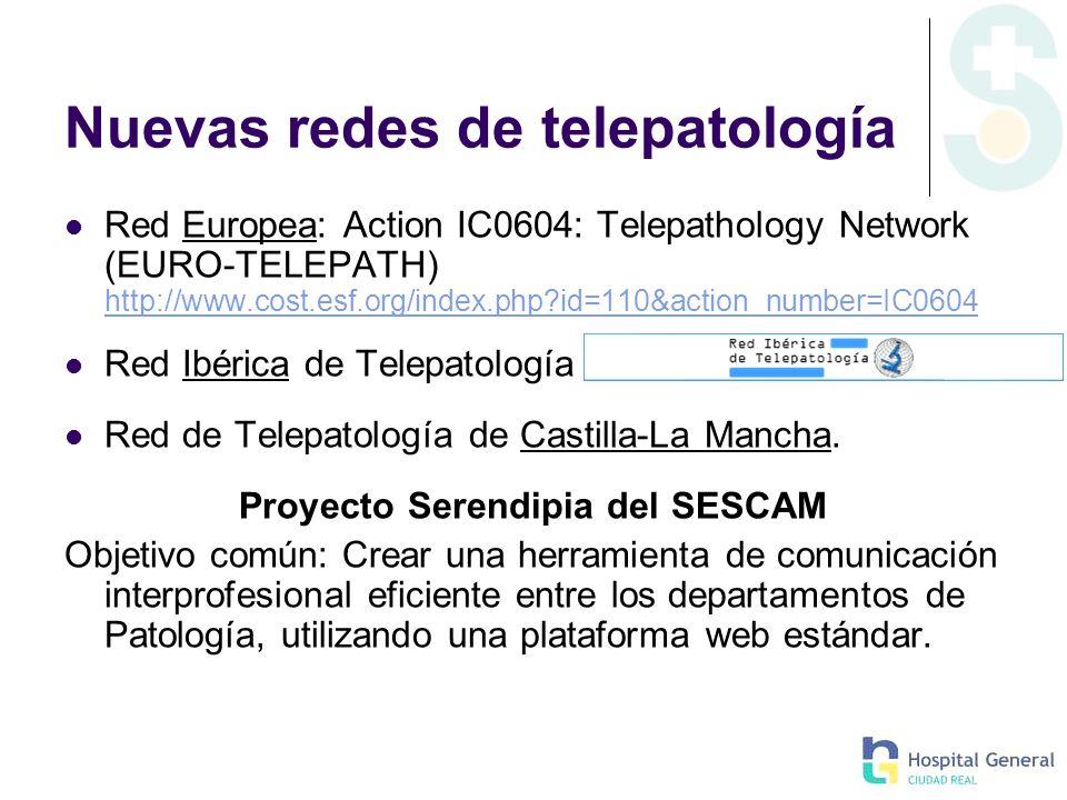 Nuevas redes de telepatología