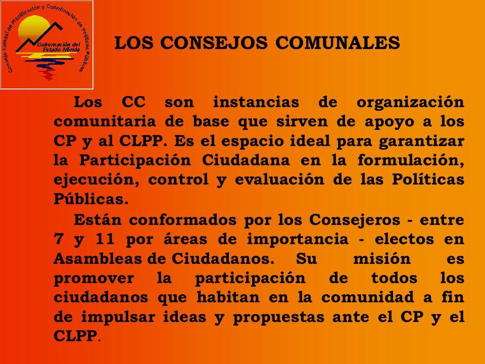 LOS CONSEJOS COMUNALES