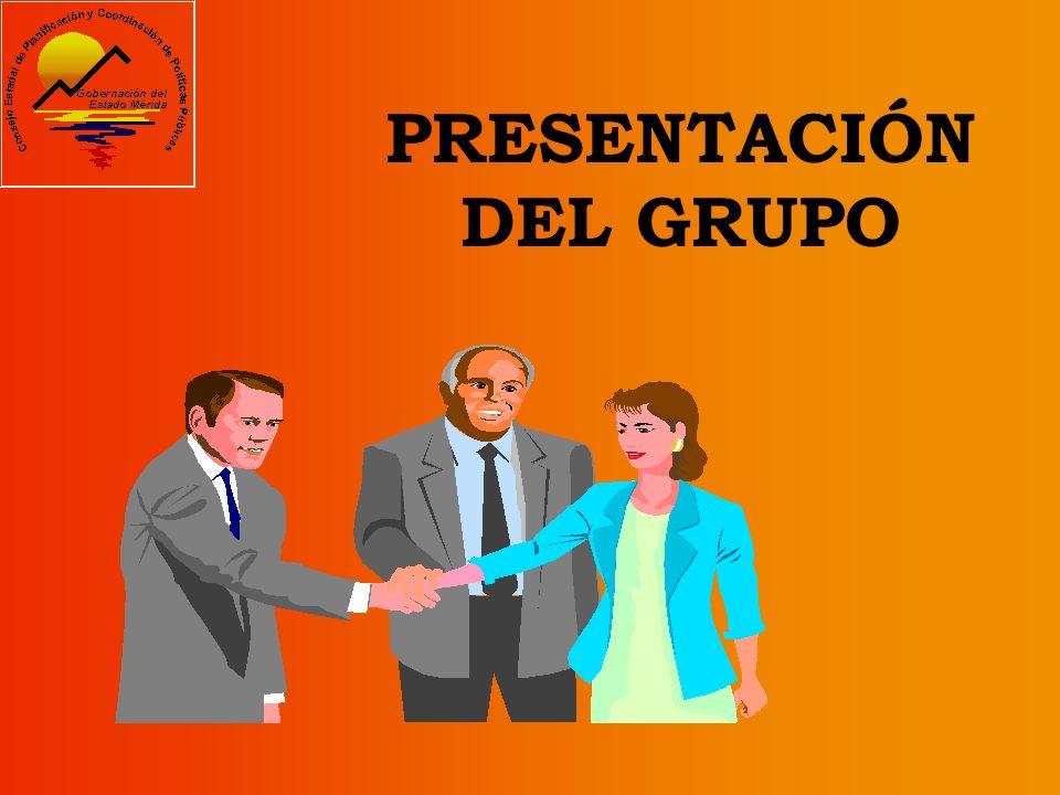 PRESENTACIÓN DEL GRUPO