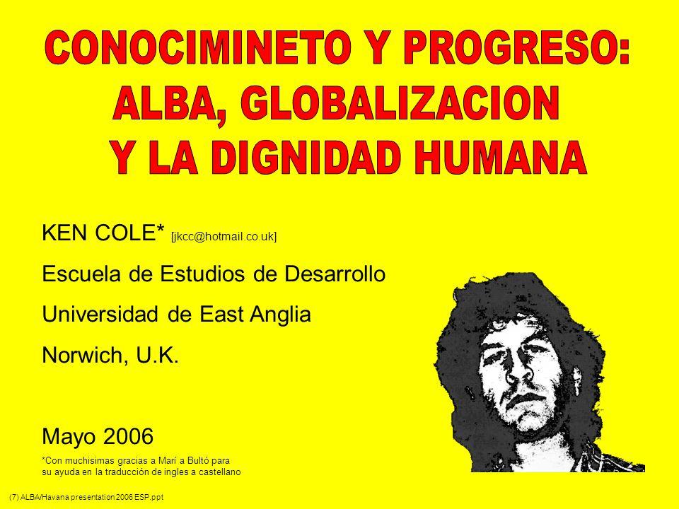 CONOCIMINETO Y PROGRESO: