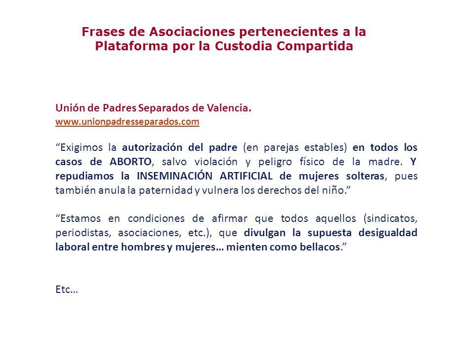 Unión de Padres Separados de Valencia.