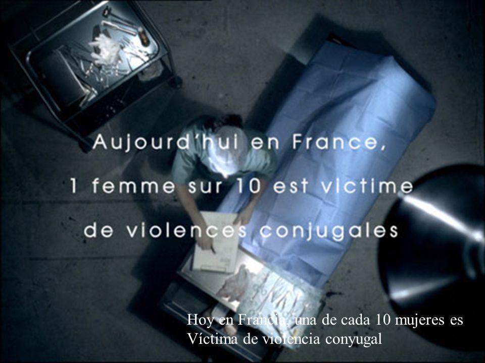 Hoy en Francia, una de cada 10 mujeres es