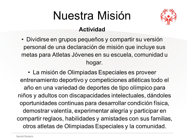 Nuestra Misión Actividad