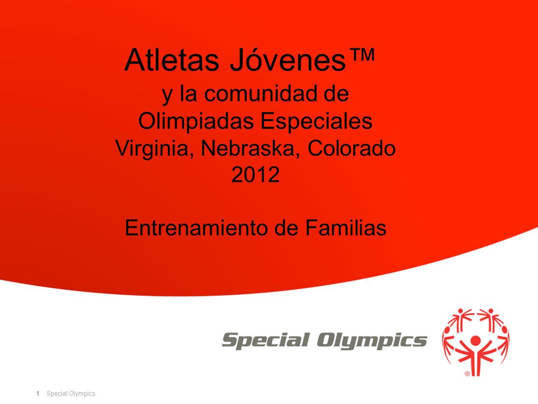 Atletas Jóvenes™ y la comunidad de Olimpiadas Especiales