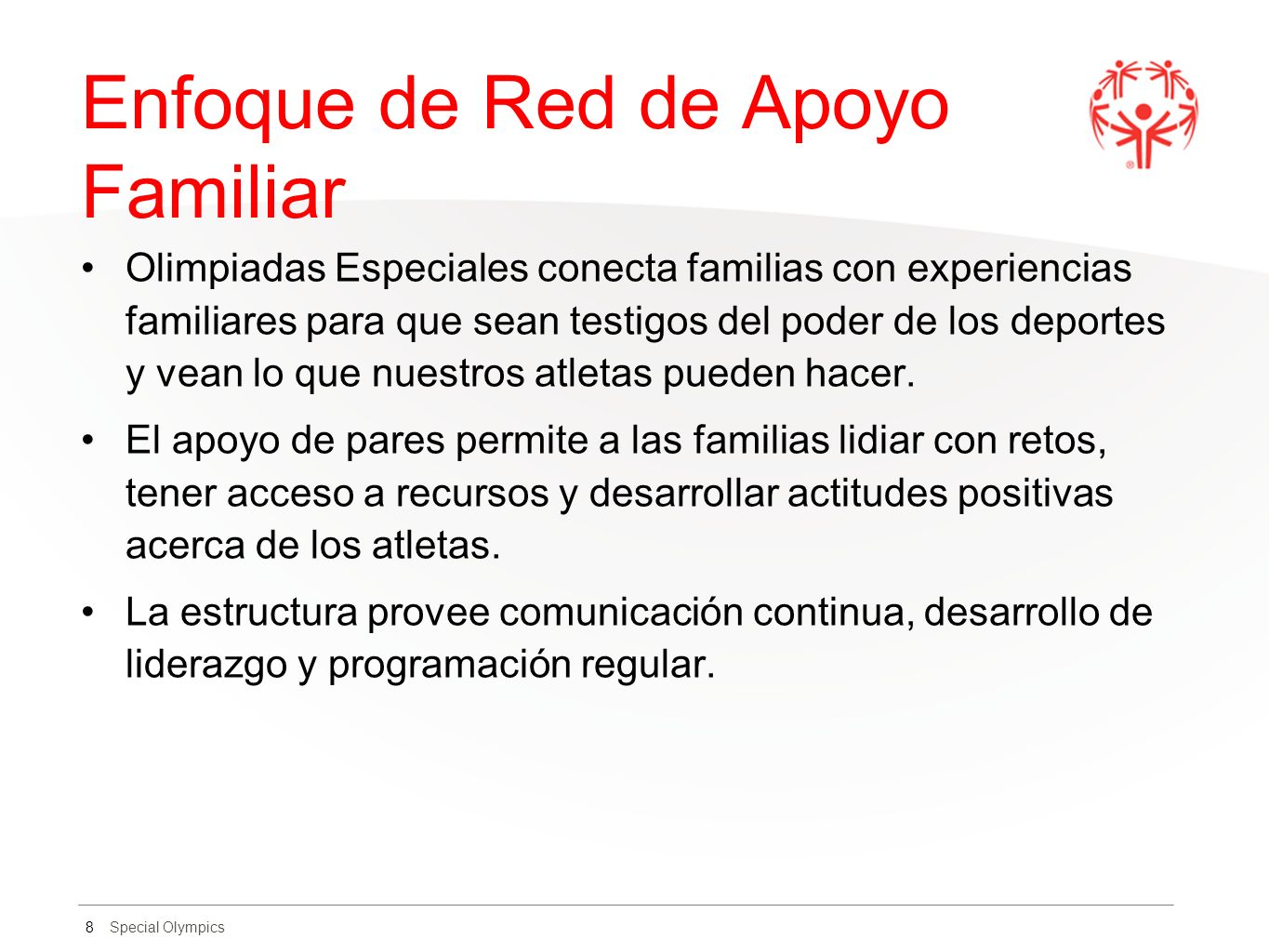 Enfoque de Red de Apoyo Familiar