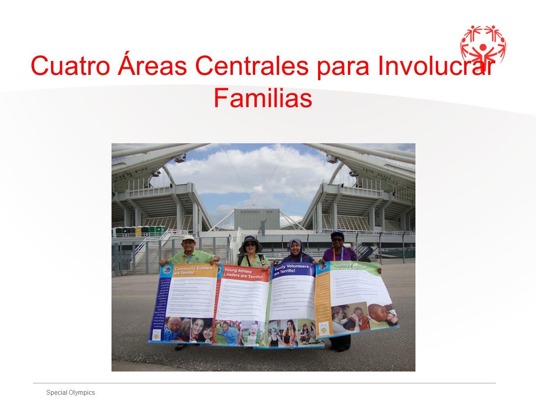 Cuatro Áreas Centrales para Involucrar Familias