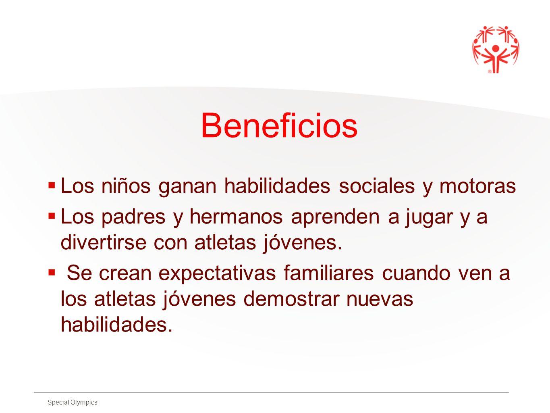 Beneficios Los niños ganan habilidades sociales y motoras