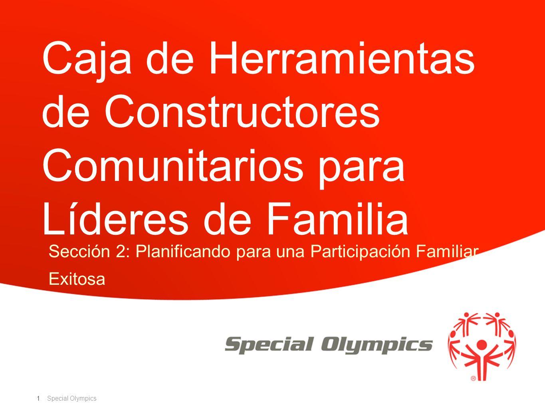 Sección 2: Planificando para una Participación Familiar Exitosa