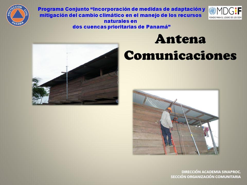 dos cuencas prioritarias de Panamá