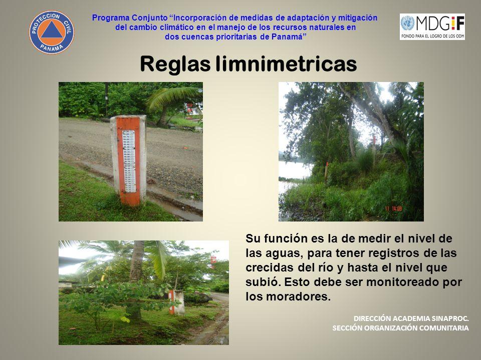 Programa Conjunto Incorporación de medidas de adaptación y mitigación