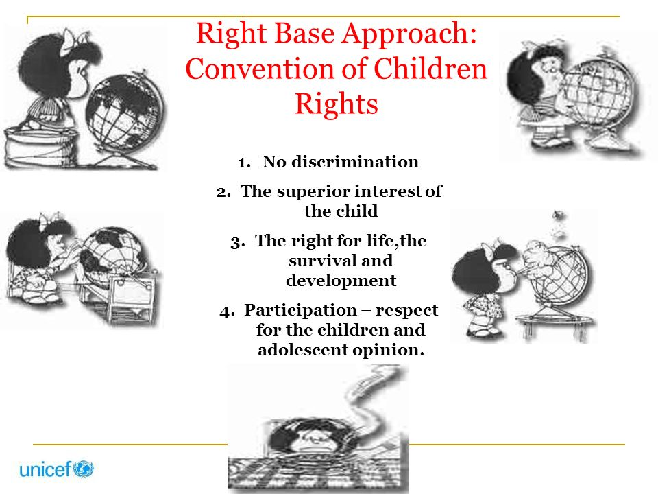 Right Base Approach: Convention of Children Rights