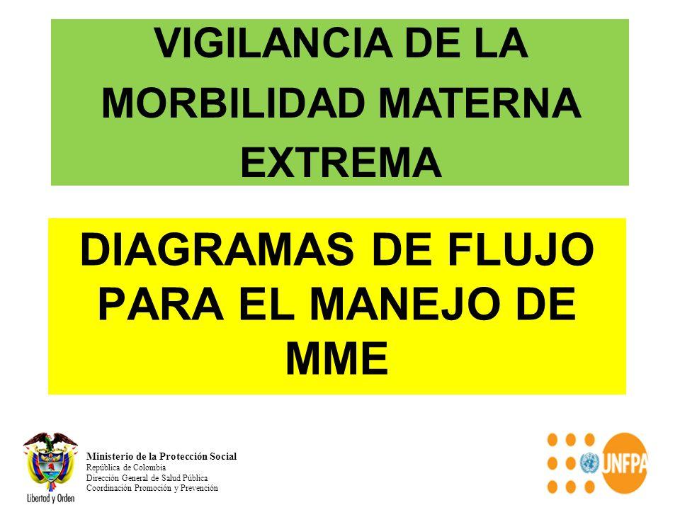 DIAGRAMAS DE FLUJO PARA EL MANEJO DE MME
