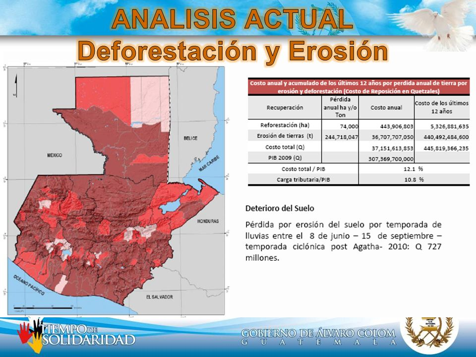 ANALISIS ACTUAL Deforestación y Erosión