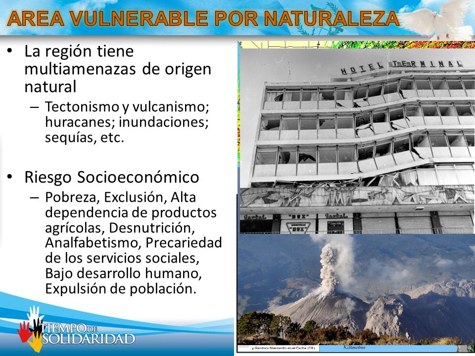 AREA VULNERABLE POR NATURALEZA