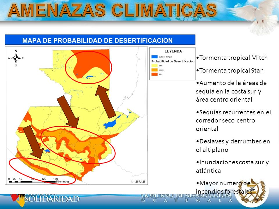 AMENAZAS CLIMATICAS Tormenta tropical Mitch Tormenta tropical Stan