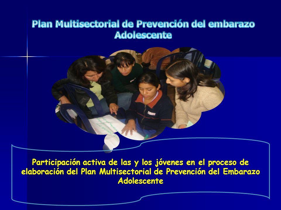 Plan Multisectorial de Prevención del embarazo Adolescente