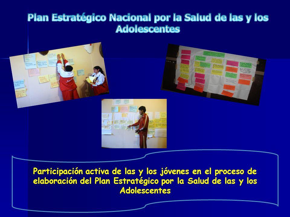 Plan Estratégico Nacional por la Salud de las y los Adolescentes