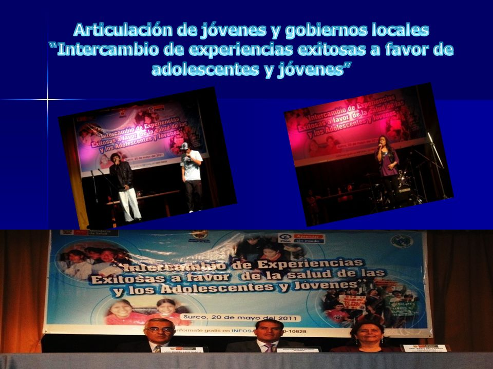 Articulación de jóvenes y gobiernos locales