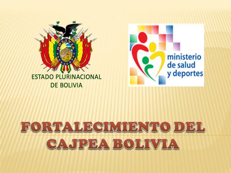 FORTALECIMIENTO DEL CAJPEA BOLIVIA