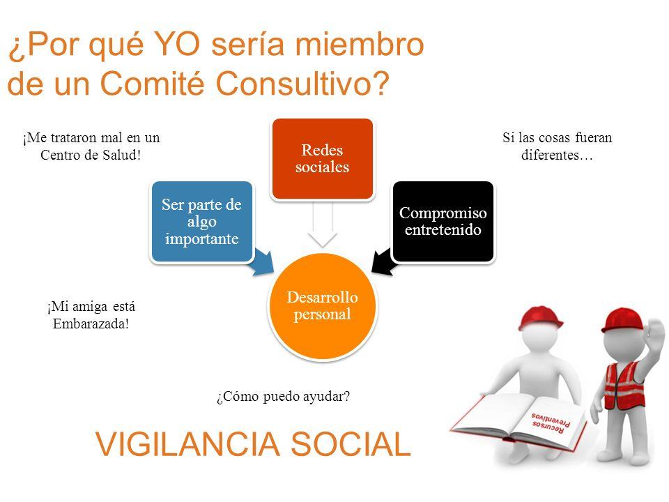 ¿Por qué YO sería miembro de un Comité Consultivo