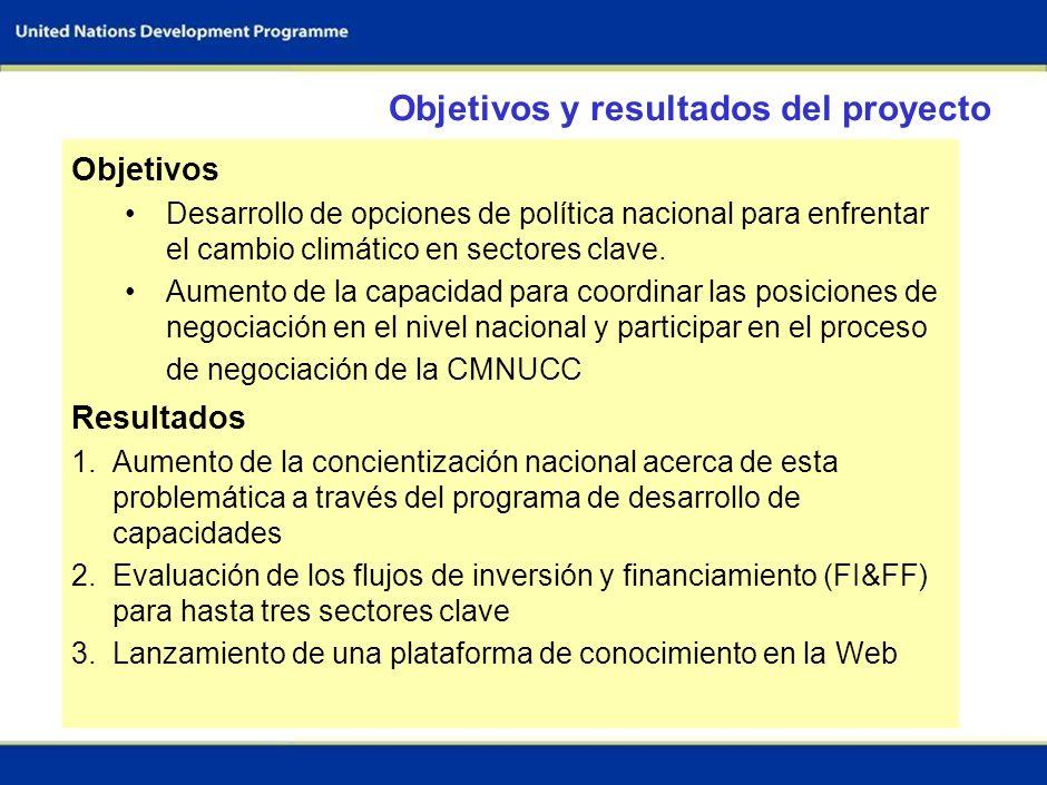 Objetivos y resultados del proyecto