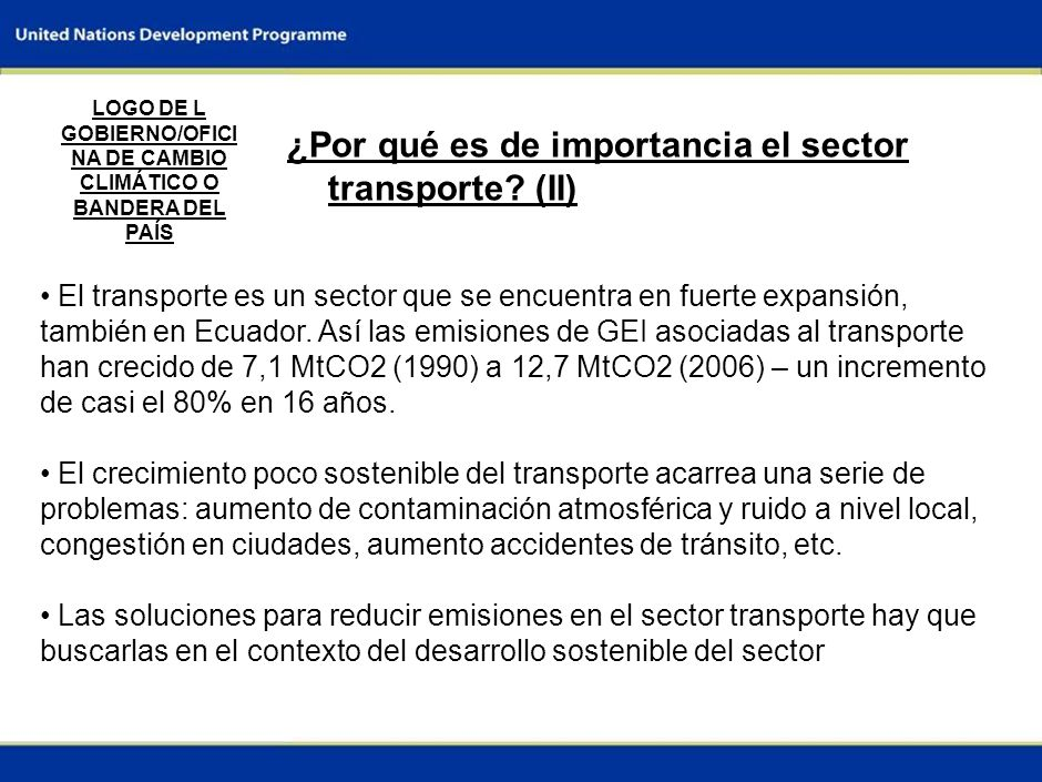 LOGO DE L GOBIERNO/OFICINA DE CAMBIO CLIMÁTICO O BANDERA DEL PAÍS