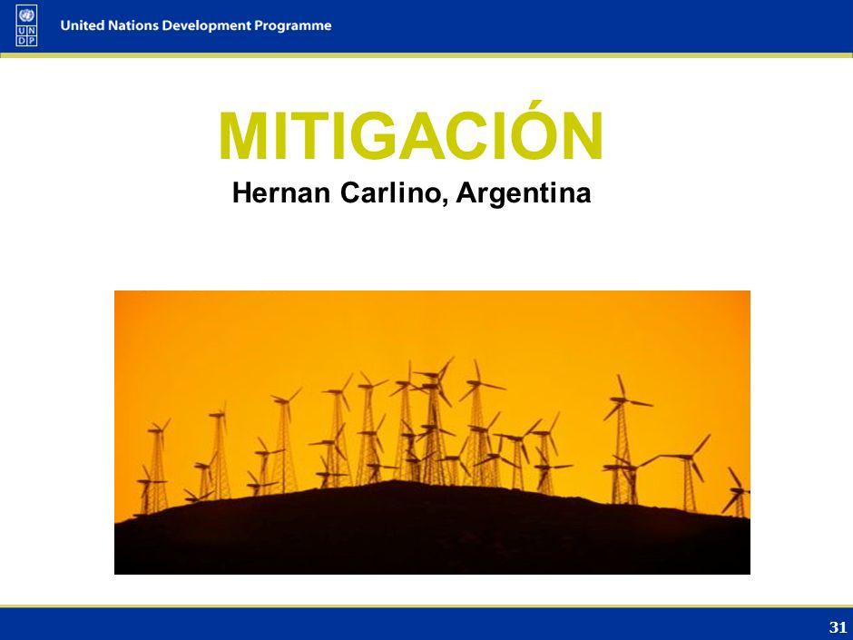 Hernan Carlino, Argentina