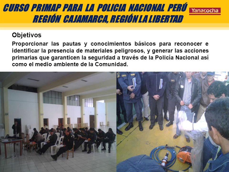 CURSO PRIMAP PARA LA POLICIA NACIONAL PERÚ