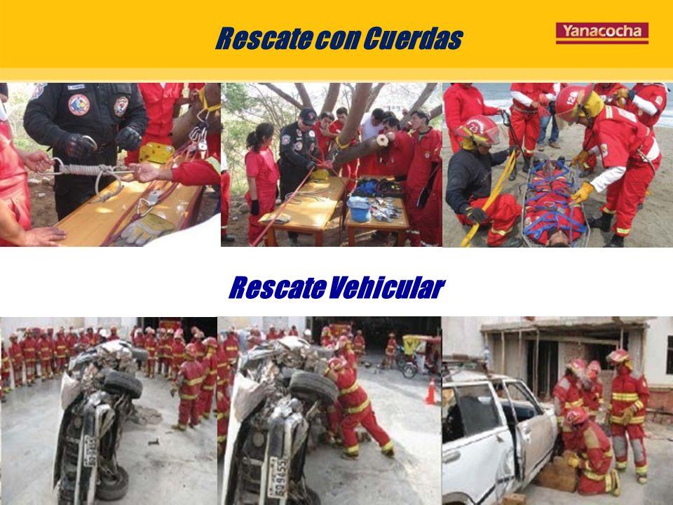 Rescate con Cuerdas Rescate Vehicular