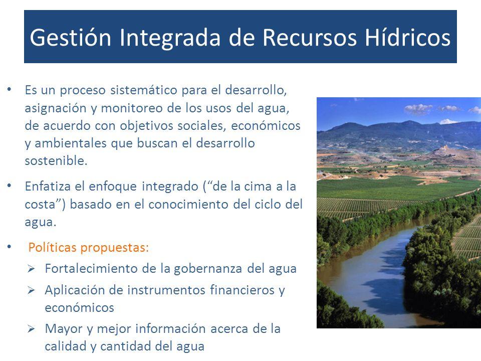 Gestión Integrada de Recursos Hídricos