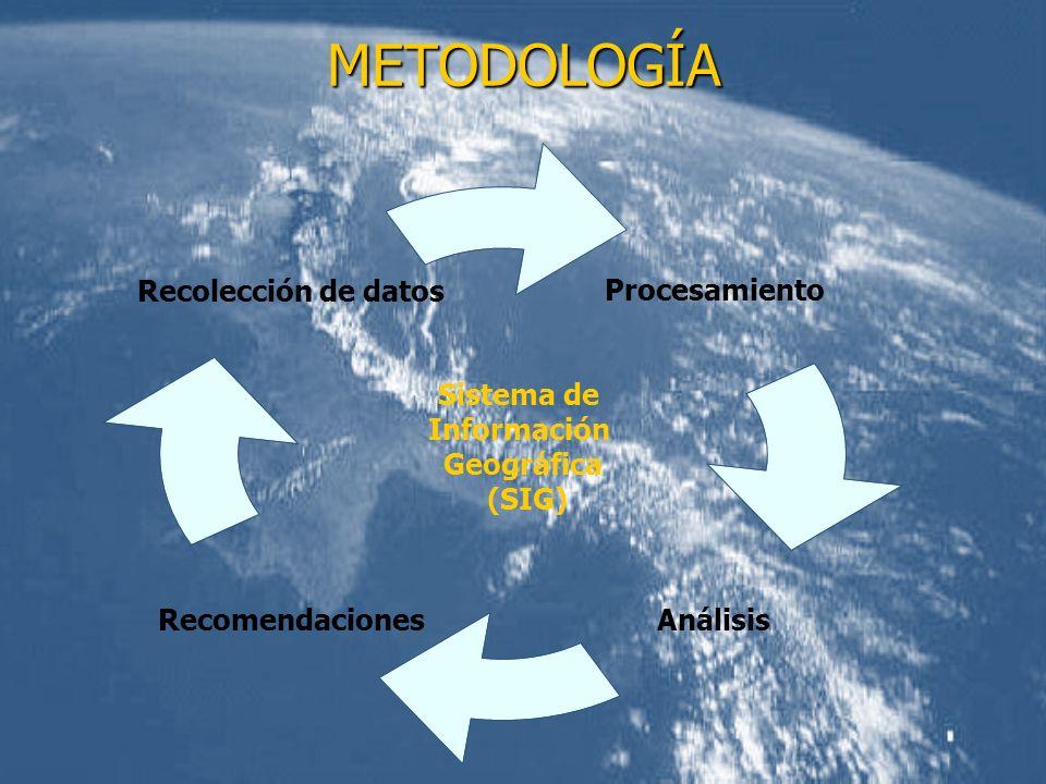 METODOLOGÍA Sistema de Información Geográfica (SIG)
