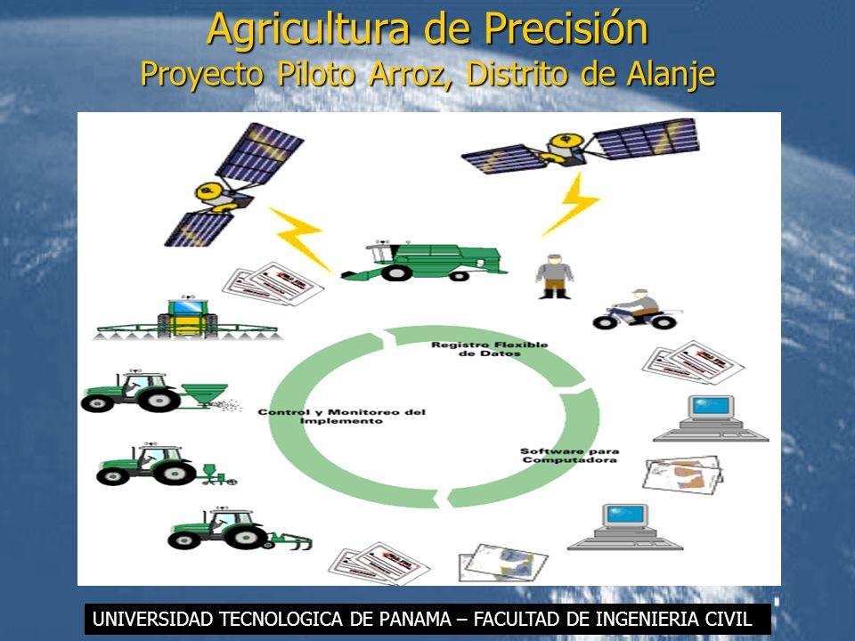 Agricultura de Precisión Proyecto Piloto Arroz, Distrito de Alanje