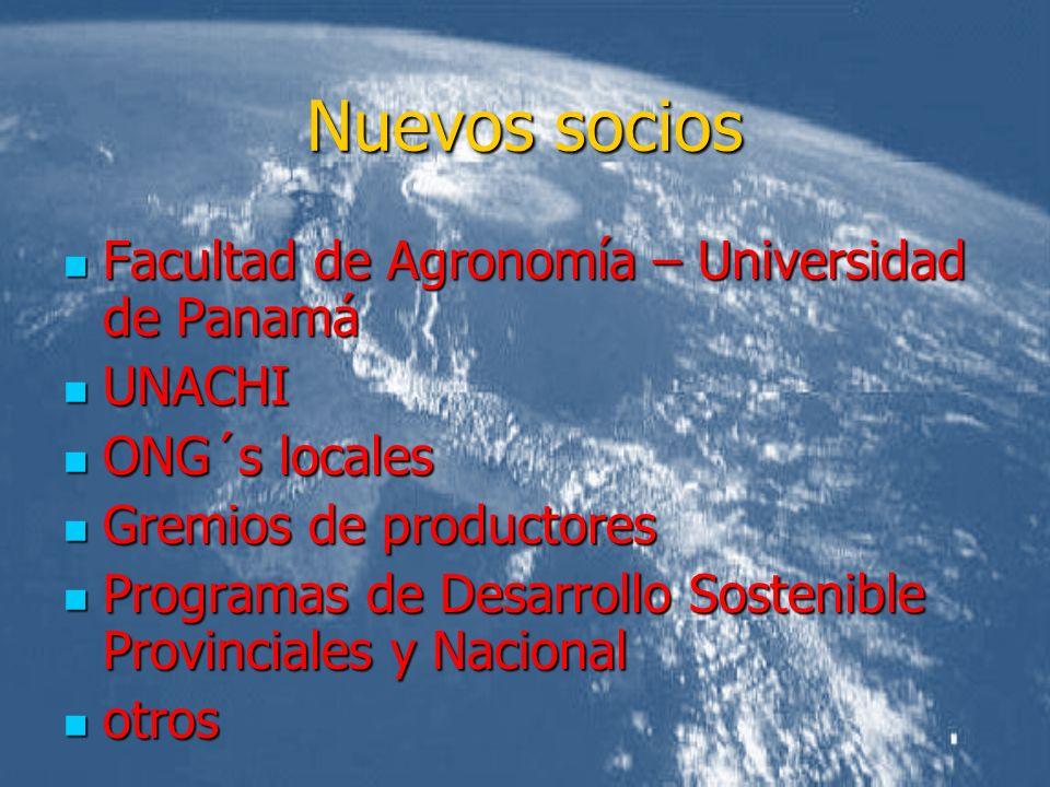 Nuevos socios Facultad de Agronomía – Universidad de Panamá UNACHI