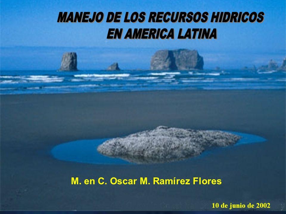 MANEJO DE LOS RECURSOS HIDRICOS