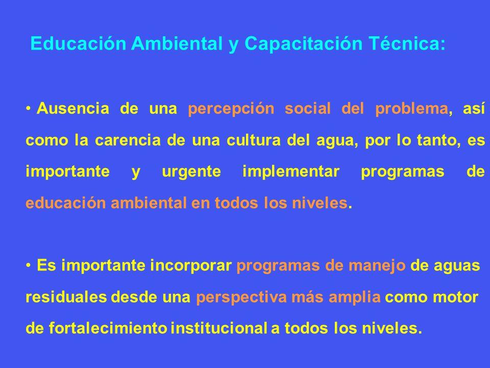 Educación Ambiental y Capacitación Técnica: