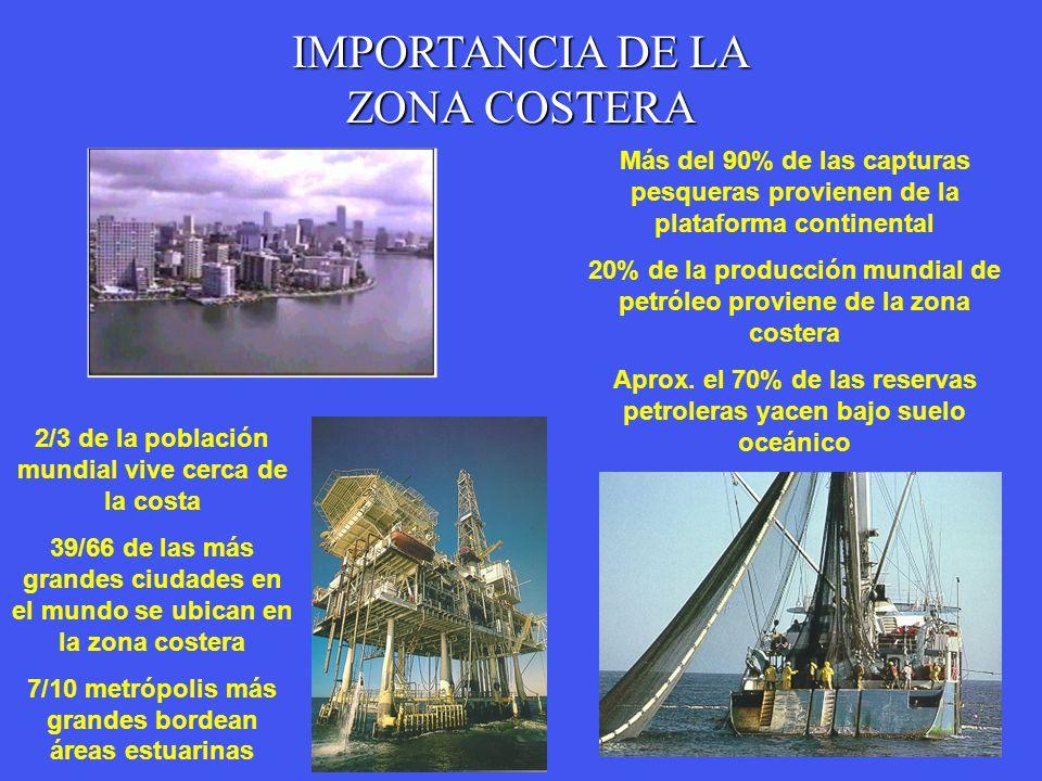 IMPORTANCIA DE LA ZONA COSTERA